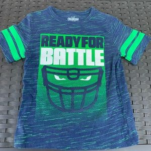 Boys football graphic tee